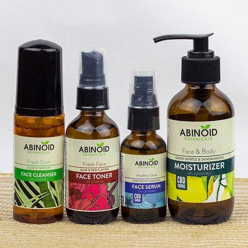 Abinoid Botanicals Face Care Kit