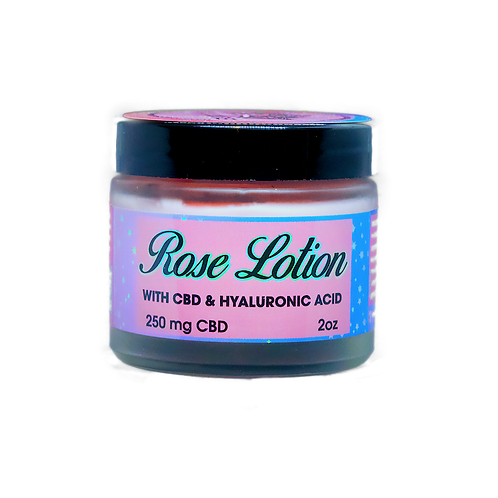 Mary Palmer - CBD Rose Lotion