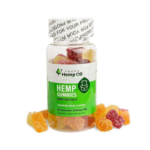 Tasty Hemp Oil Organic CBD Gummies