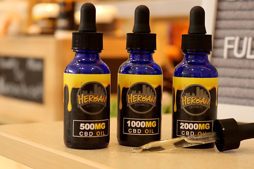 Herban Extracts CBD Oil *NEW*, *TOP PICK*, *BEST VALUE*