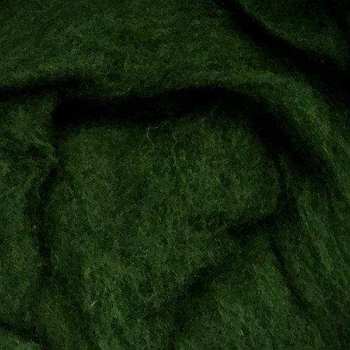 Merino Batt 25g - DARK GREEN