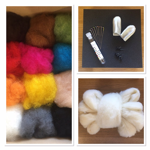 Needle felting Starter Kit for Beginners-