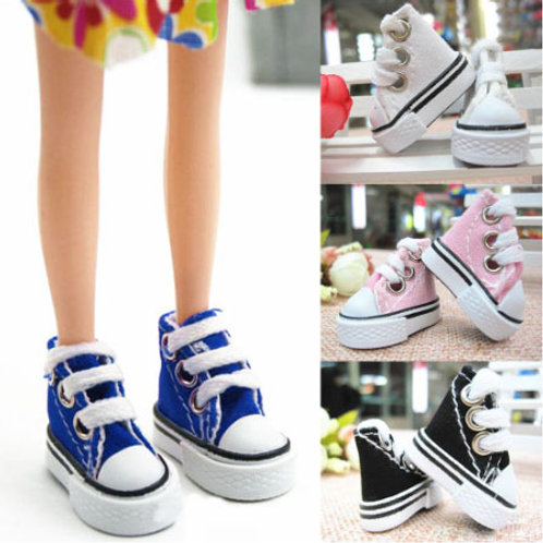 Mini Canvas Shoes 3.5cm