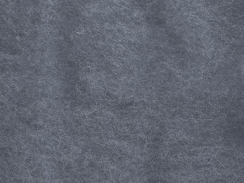 Carded Wool Batt ASH 50g
