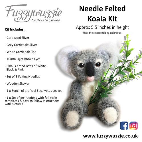 Needle Felted Koala Kit