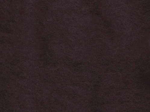 Carded Wool Batt 50g Dark Brown