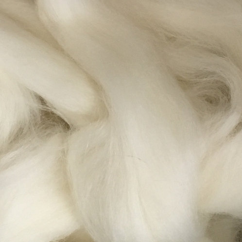 White Corriedale Top 50g