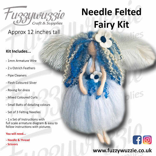 Needle Felted Fairy Kit