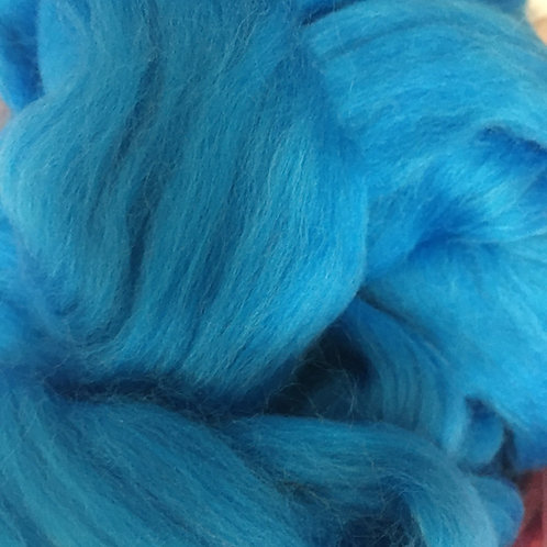 Blue Corriedale Top 50G