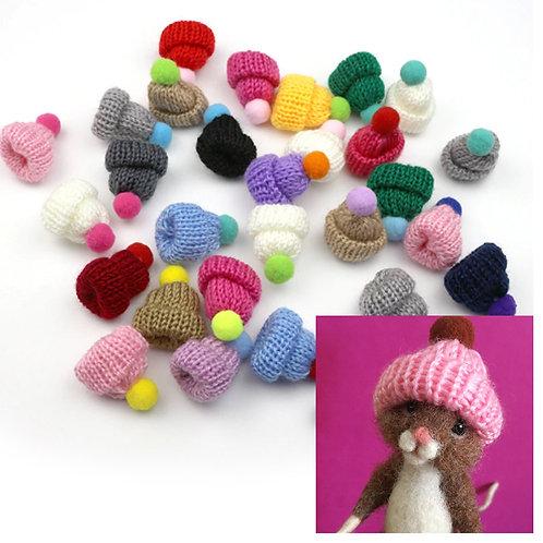 Mini Knitted Bobble Hat