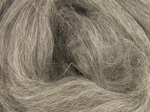 Mixed Grey Corriedale Top 100g