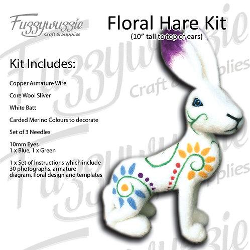 Floral Hare Kit