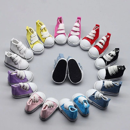 Mini Canvas Shoes 5cm