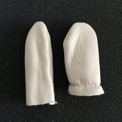 Thick Leather Finger Protectors - Small