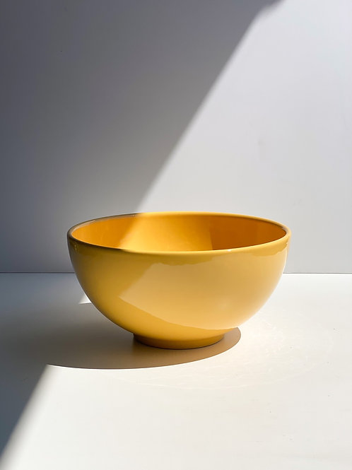 big yellow bowl
