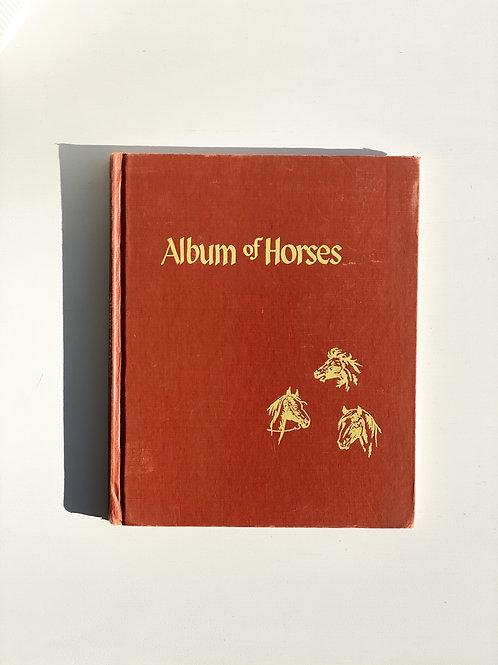 Album of Horses - vintage book