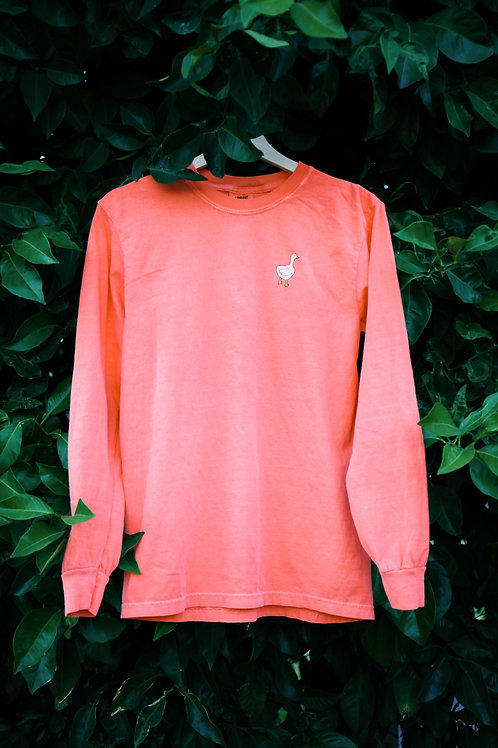 embroidered duck long sleeve