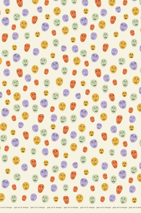 face wrapping paper