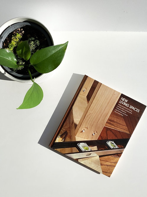 New Living Spaces - vintage book