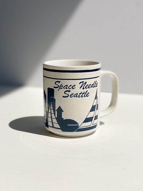 vintage seattle space needle mug