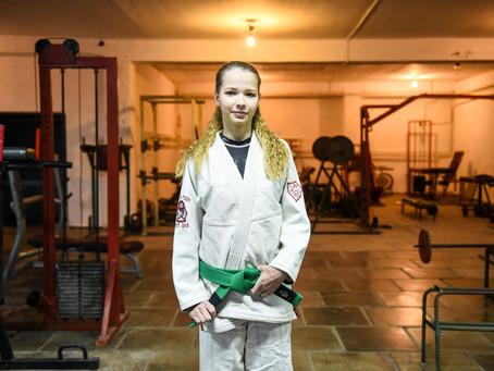 Победительница Первенства России по джиу‑джитсу Вероника Покровская рассказала РИАМО