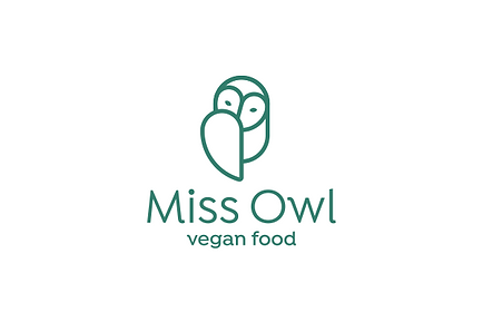 Miss Owl Vegan Food logo.png