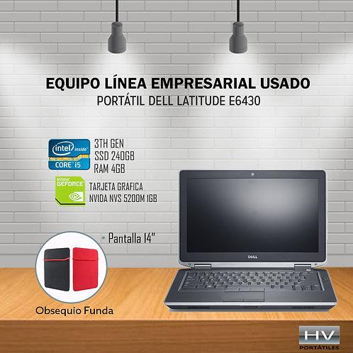 PORTÁTIL DELL LATITUDE E6430 - Core I5 3gen