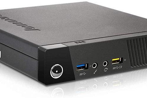 """EQUIPO COMPLETO: CPU LENOVO TINY M73 - Core i5 4gen con Monitor 17"""""""