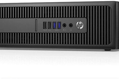 """EQUIPO COMPLETO: CPU HP SFF ELITEDESK 800 G2 - Core I5 6gen con Monitor 17"""""""