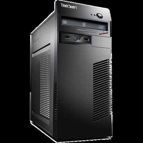 """EQUIPO COMPLETO: CPU LENOVO THINKCENTRE M73 - Core i5 4gen con Monitor 17"""""""