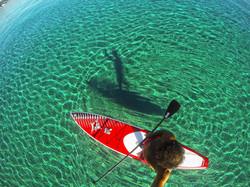 SUP Paddle Surf Zante NE Coast
