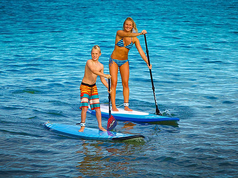 SUP Lessons Stand Up Paddle in Zante
