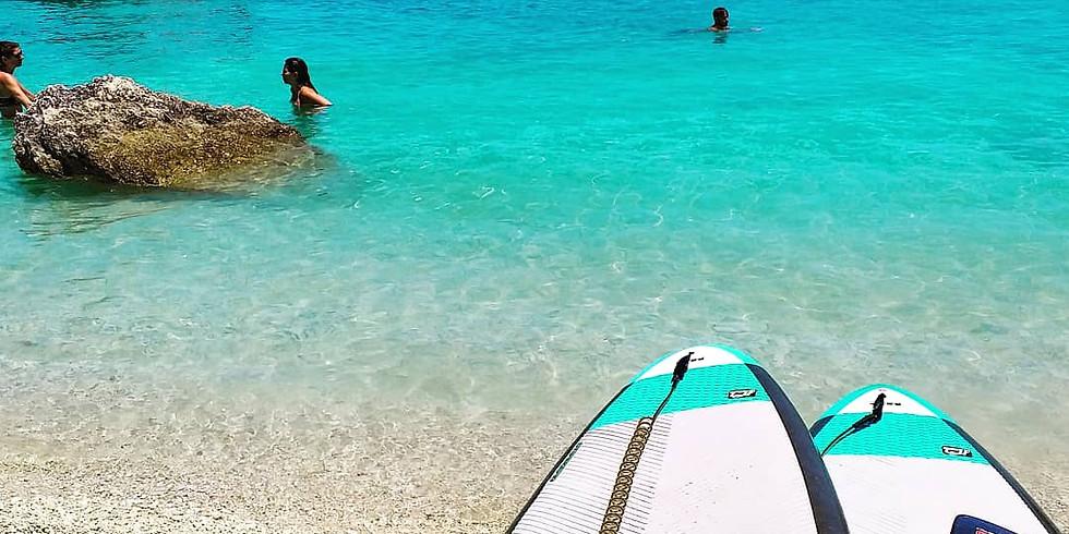 SUP TOUR TO XIGIA BEACH (sulphur and collagen spa beach) (23/06)