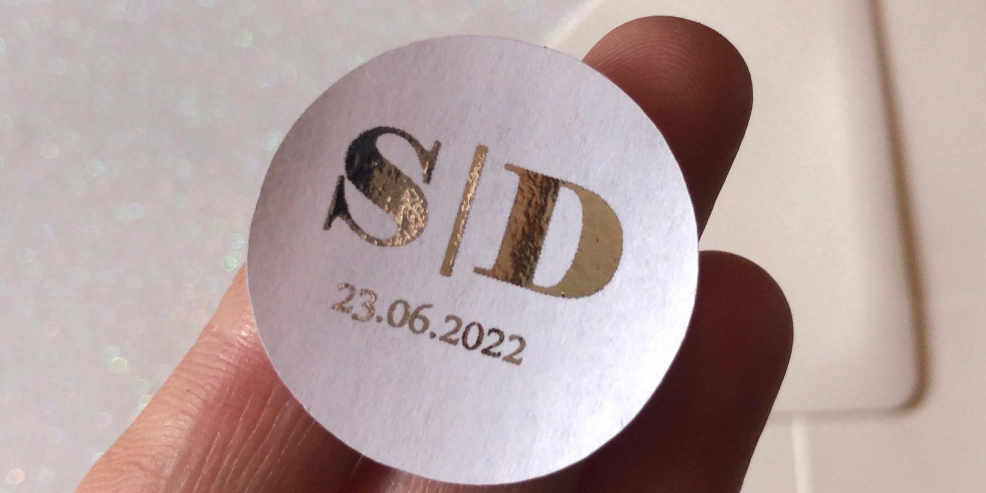 Bold Sticker