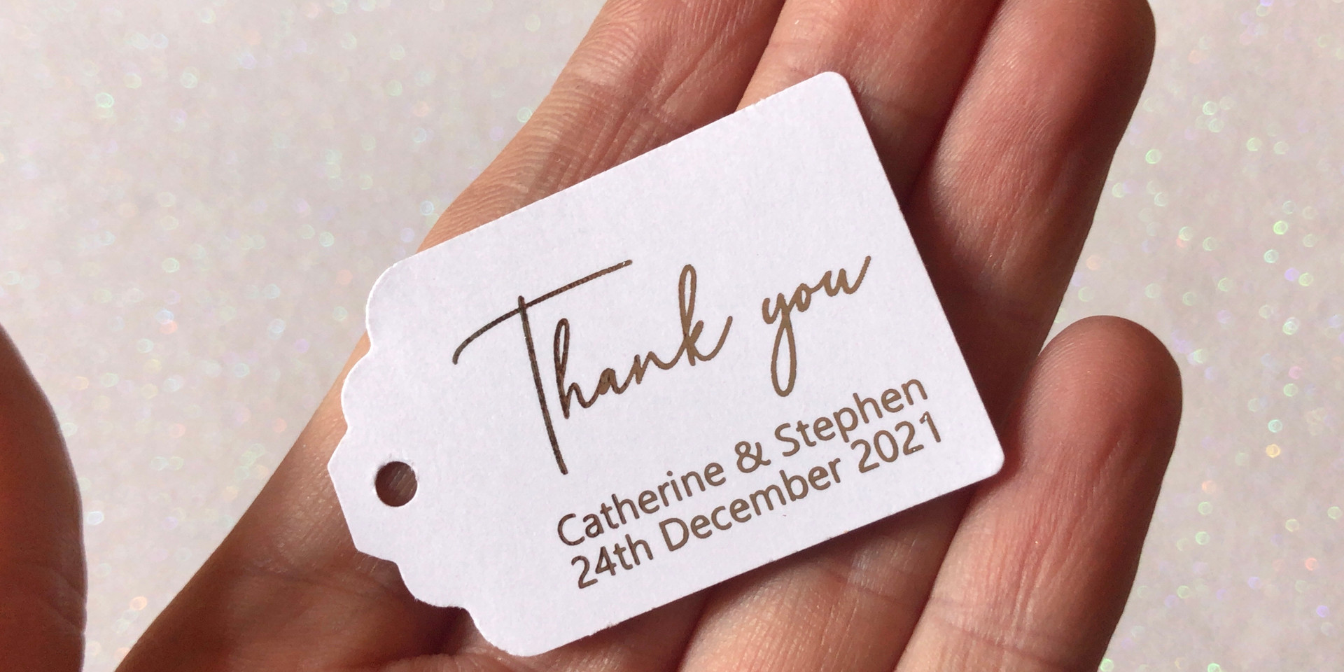 Simple Thank you Tag