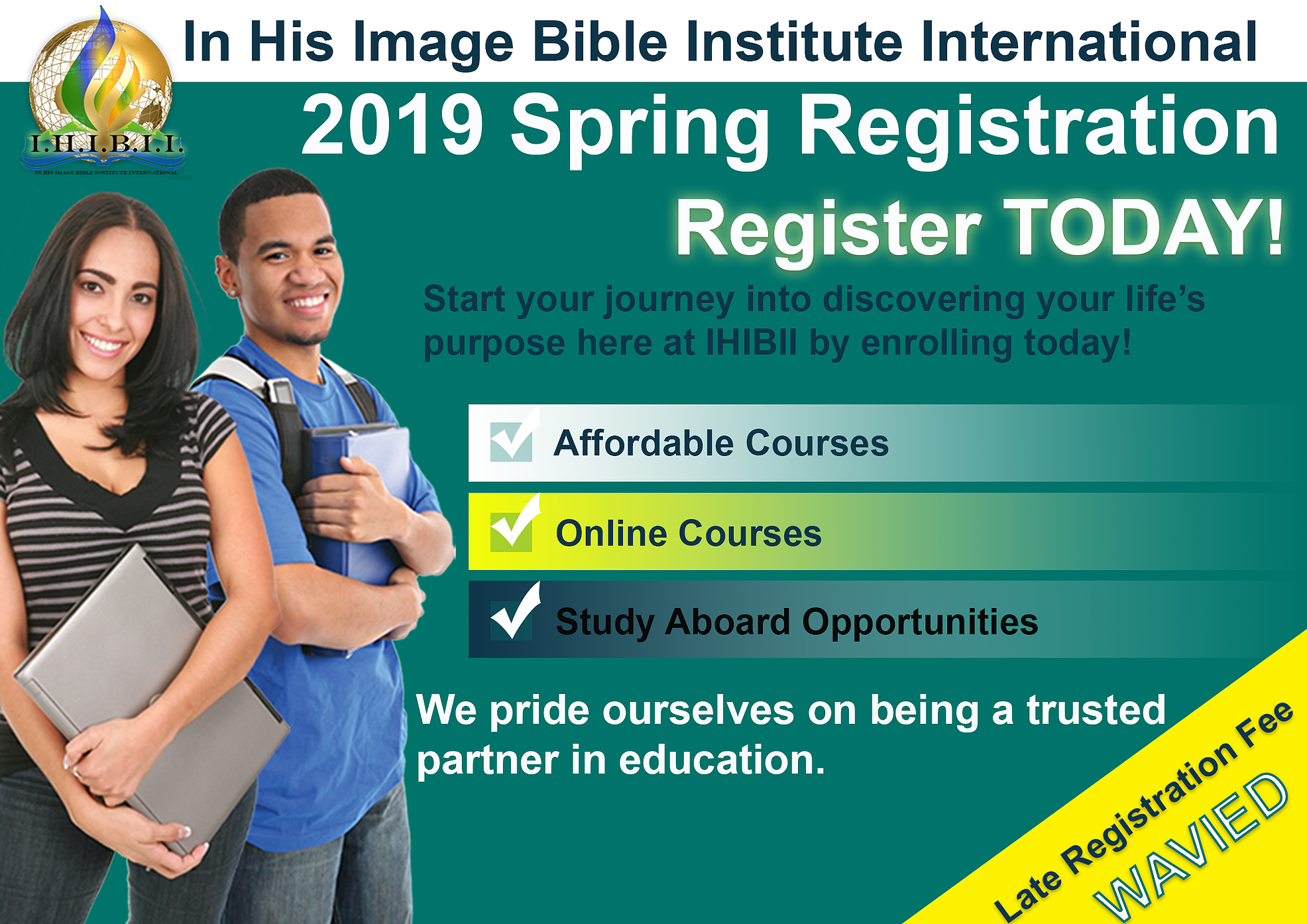 IHIBII Registration Flier