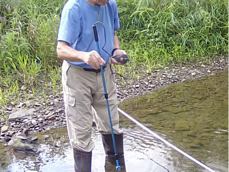 The Senior Environmental Corps: Volunteers Monitoring Water Quality