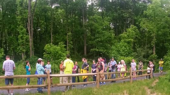 Hiking in the Spring Creek Watershed