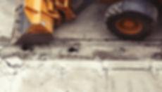 Hjullastare med skopa