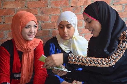 3 girls egypt talking.jpg