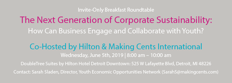 The Next Generation of Corporate Sustainability: How Can Business Engage and Collaborate with Youth?