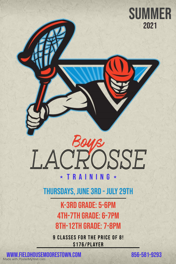 Copy of Lacrosse Flyer Template - Made w