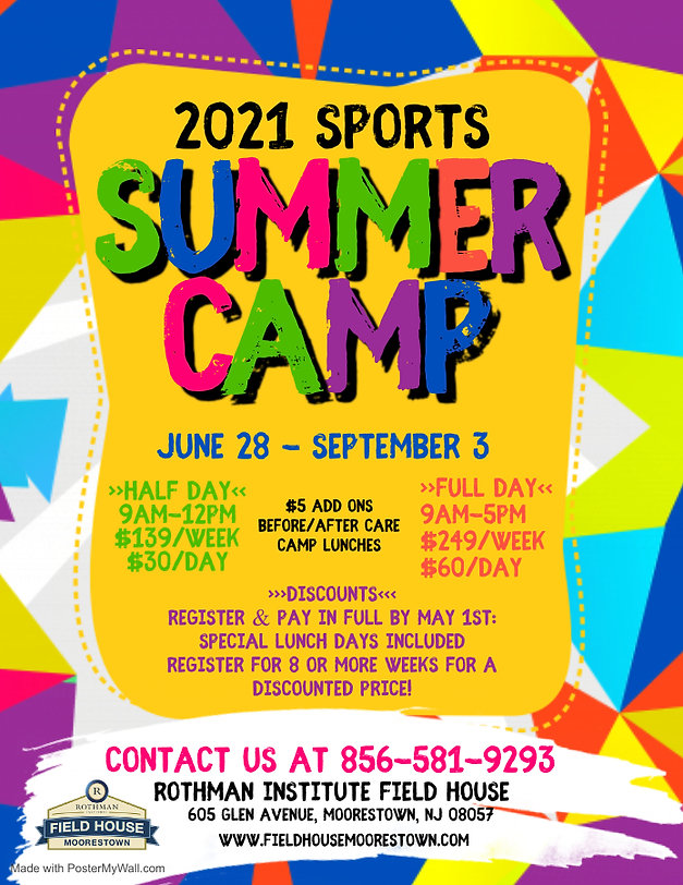 Copy of Summer Camp Flyer - Made with Po
