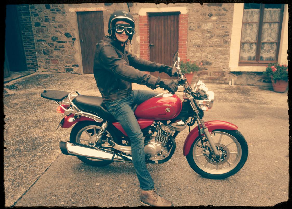 Ma première moto - YBR125 Custom