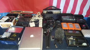 Matériel de tournage