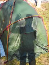 Ca faisait bien longtemps que j'avais dormi dans une tente, aujourd'hui c'est devenu mon quotidien !