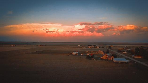 Au nord du Texas se forment beaucoup de tornades, ma tente s'est couchée sur moi pendant la nuit