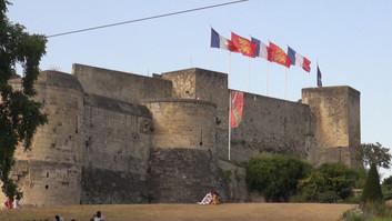 Le Château Guillaume le Conquérant à Caen