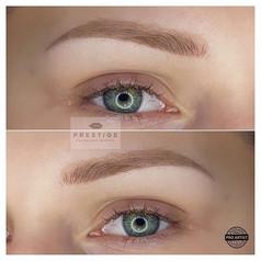 Vyhojené púdrové® obočie ✔️ #permanentbrows #permanentmakeup #powderbrows #healedbrows #slovakia #slovakgirl