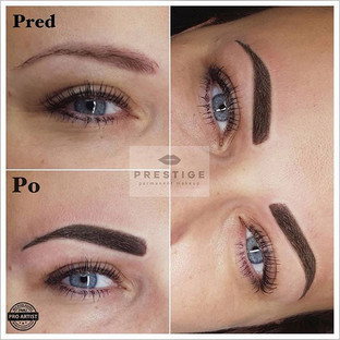 Powder brows by _prestige_pmu _#permanentmakeup #permanentbrows #powderbrows #slovakgirl #tetovanieobocia #tetovaniezilina